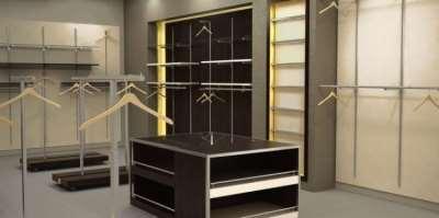 Большой выбор недорогих стеллажей для тканей и одежды