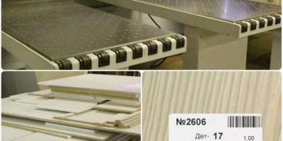 Точный распил плитных материалов без сколов от компании Holzmarkt