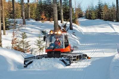 Оборудование для прокладки лыжных трасс