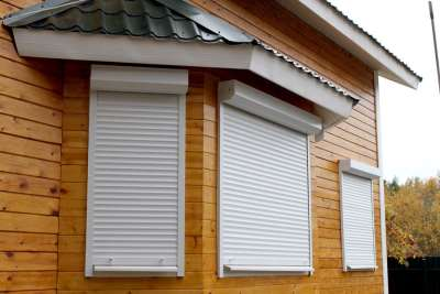 Рольставни – надежная защита окна