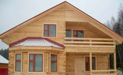 Строительство домов из бруса — быстро и выгодно