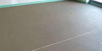 Стяжка пола – неотъемлемая часть ремонта