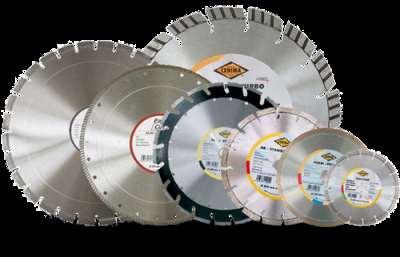 Алмазные диски – назначение и сфера применения