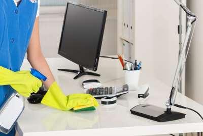 Уборка офисов от компании «Чистый день»