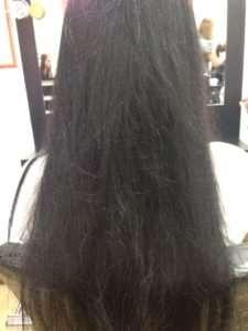 Кератиновое выпрямление волос с глубоким восстановлением