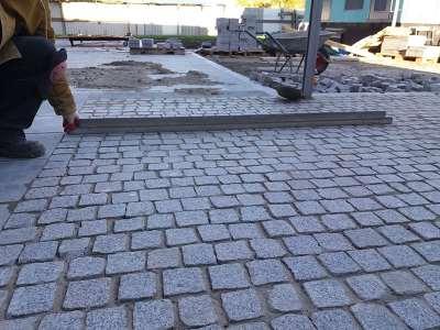 Гранитная брусчатка – лучшее оформление тротуаров