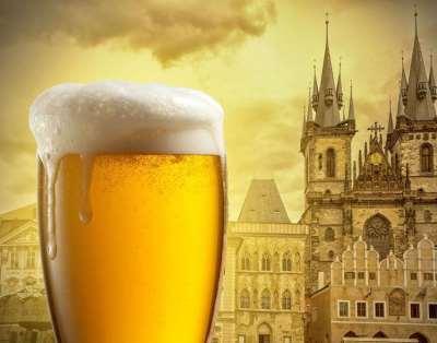 Высококачественное пиво «Чешский Бочонок»