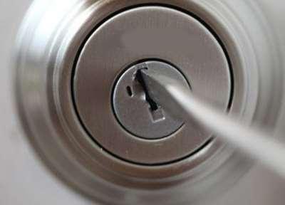Открытие замка без ключа
