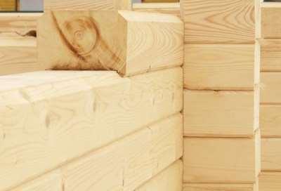 Профилированный брус как материал для строительства дома