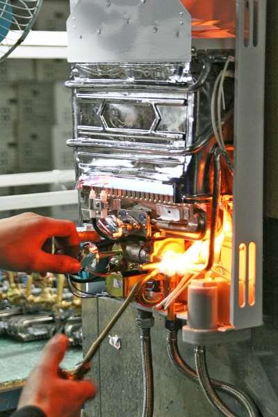 Профессиональный и высококачественный ремонт газовых колонок в Санкт-Петербурге