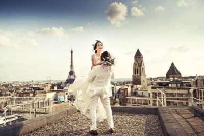 Свадьба в Париже – необычайно яркое и запоминающееся событие
